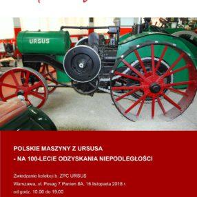 Więcej o: Zwiedzanie kolekcji po b. Zakładach Przemysłu Ciągnikowego URSUS