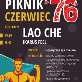 Więcej o: Będziemy podczas Pikniku CZERWIEC'76 w Parku Czechowickim