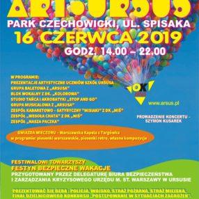 Więcej o: Będziemy podczas VII Festiwalu Edukacji Kulturalnej ART. URSUS w Parku Czechowickim