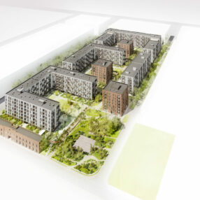 Więcej o: Szacunek według architektów nowych osiedli dla postindustrialnej części Ursusa